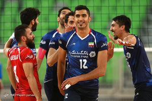 دومین دیدار تدارکاتی تیمهای والیبال ایران و اسلوونی