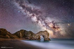 تصاویر زیبا از کهکشان راه شیری