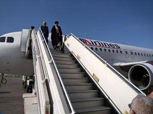 عکس/ حضور رئیسی در فرودگاه شهیدهاشمی نژاد مشهد
