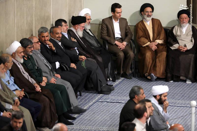 دیدار رهبرانقلاب با جمعی از قشرهای مختلف مردم