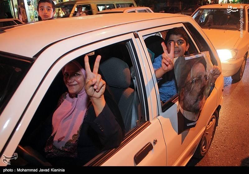 تجمع هواداران سید ابراهیم رئیسی در کرمان
