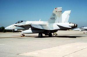 اف 18 کویتی