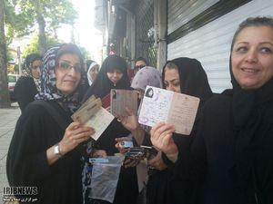 حضور کم نظیر مردم گلستان در شعبه های رای گیری
