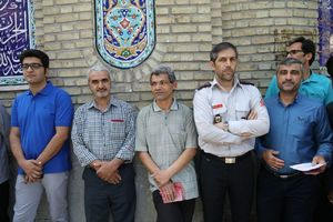 عکس/ حضور جلال ملکی در پای صندوق رای