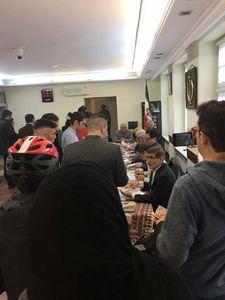 عکس/ رای گیری در کنسولگری ایران در هامبورگ