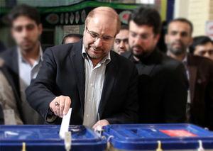 صوت/ سخنان قالیباف پس از شرکت در انتخابات