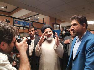 حضور رئیسی در ستاد انتخابات کشور