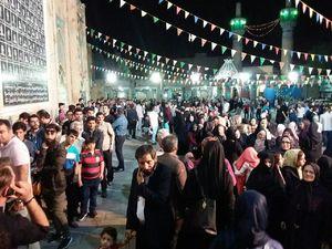حضور پرشور مردم در پاي صندوق هاي راي البرز