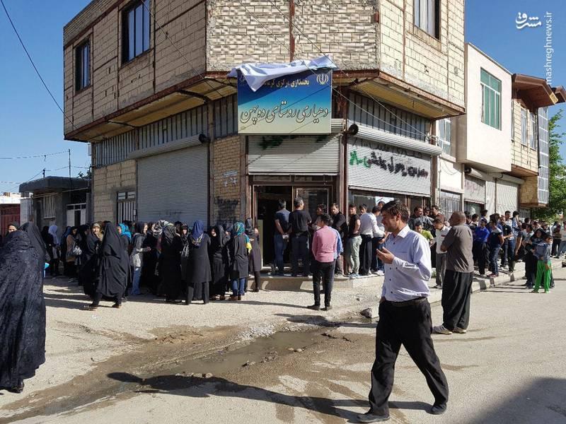 عکس/  مردم کرمانشاه در صف رای گیری