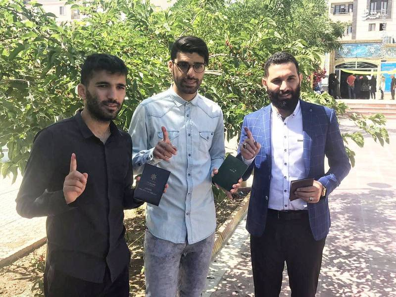 مهدی طارمی، محسن مسلمان و پسر سعید حدادیان