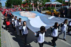 مراسم گرامیداشت روز آتاتورک در ترکیه