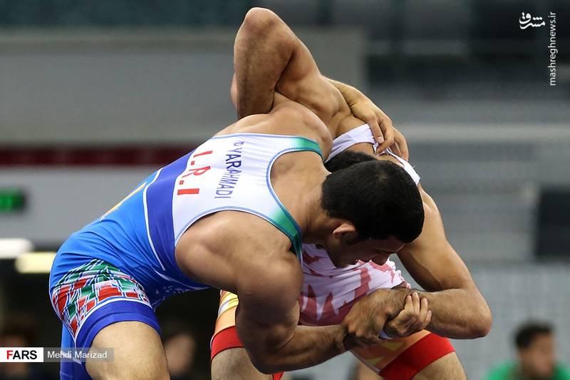 مسابقات کشتی آزاد بازیهای کشورهای اسلامی