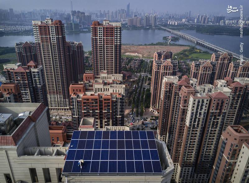 افزایش محسوس استفاده از انرژی خورشیدی در چین