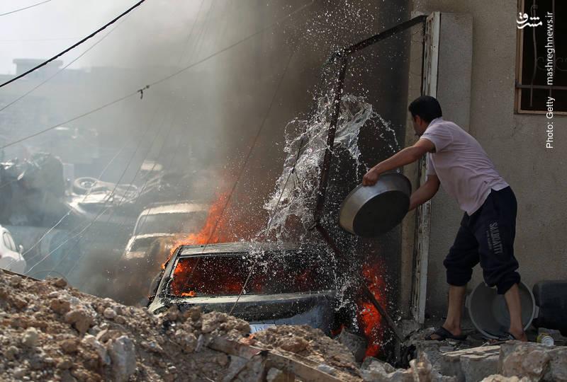 صدمات جنگ خیابانی در موصل