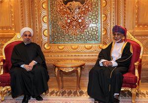 سلطان قابوس پیروزی حسن روحانی را تبریک گفت