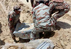 کشف مقادیر زیادی سلاح در پاکستان +عکس