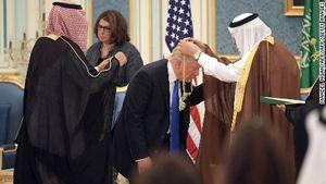 جزئیاتی از دیدار ۲ ساعته ترامپ با شاه سعودی