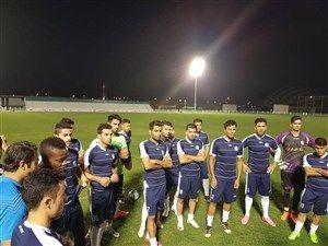 اولین تمرین استقلال خوزستان در مسقط