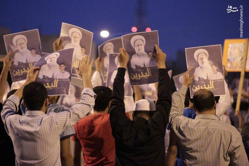 تظاهرات پرشور طرفداران آیت الله عیسی قاسم در الدراز