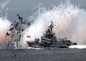 عکس/ توان رزمی روسیه در اقیانوس آرام