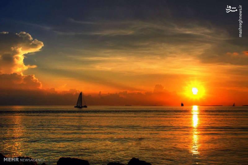غروب آفتاب در گوشه و کنار جهان
