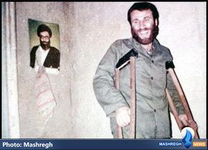 عکس/ مسیح کردستان در میان رزمندگان کُرد