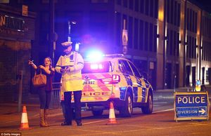 انفجار تروریستی در یک کنسرت در شهر منچستر انگلیس