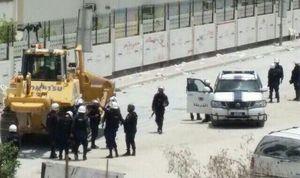 آغاز تجمع در مقابل سفارت بحرین در بغداد