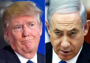 فیلم/ اکراه ترامپ در دست دادن به نتانیاهو