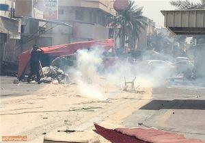 حمله مزدوران آلخلیفه به منزل شیخ عیسی قاسم +عکس