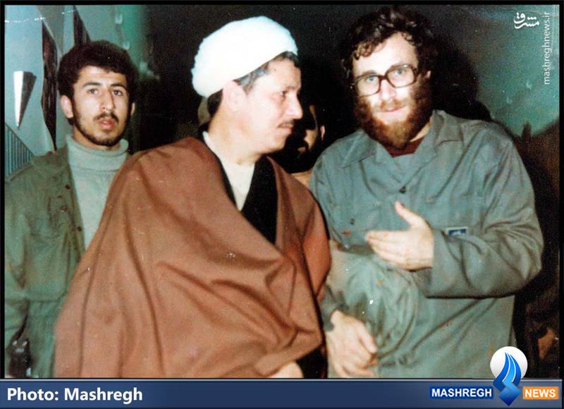 شهید محمد بروجردی و آیت الله هاشمی رفسنجانی