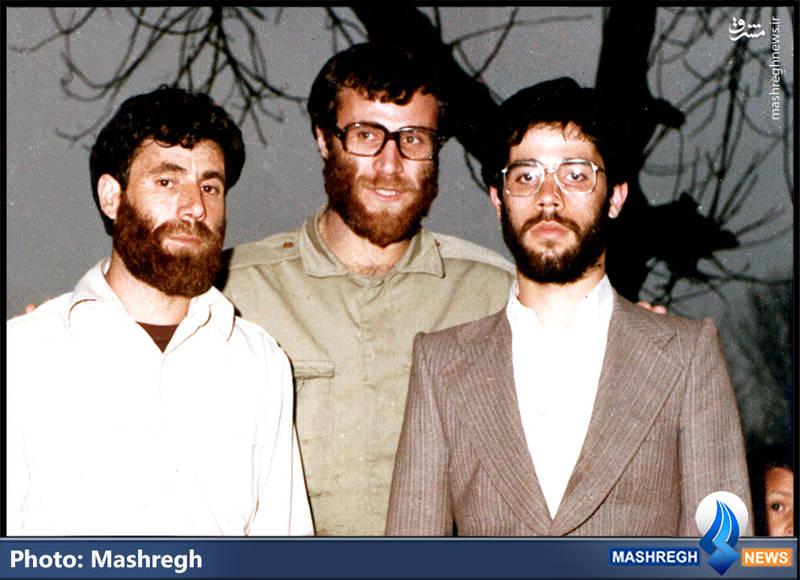 شهید محمد بروجردی(نفر وسط) و دو برادرش