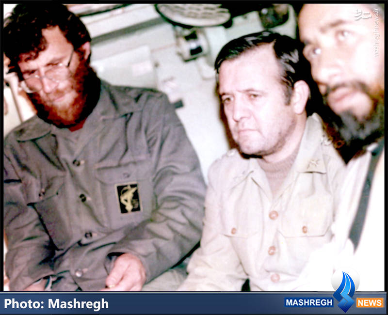 شهید محمد بروجردی(نفر اول از چپ)