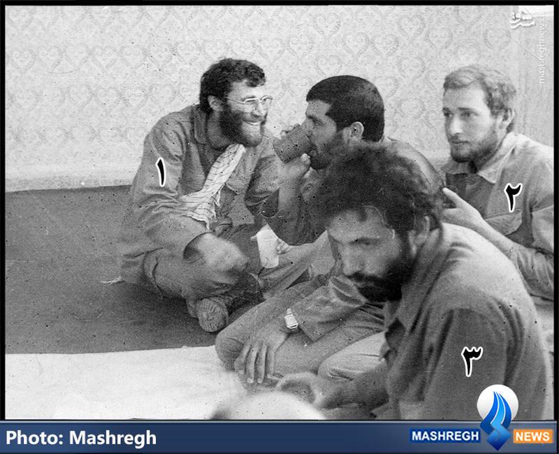 ۱-شهید محمد بروجردی ۲-شهید محمدعلی گنجی زاده ۳-شهید ناصر کاظمی