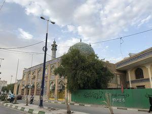 عکس/ مسجد جامع خرمشهر؛ ۳۵ سال بعد