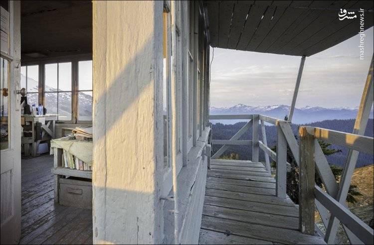 خانه باصفا روی کوه