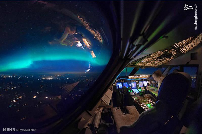 تصاویر زیبا ازکابین خلبان بوئینگ ۷۴۷