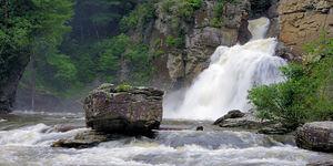 عکس/ آبشار لینویل کارولینای شمالی