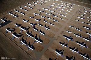 عکس/ گورستان هواپیماها در آمریکا