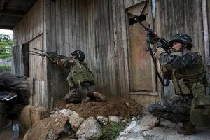 درگیری نیروهای فیلیپینی برای بازپسگیری مراوی
