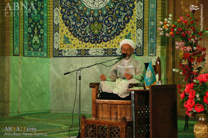 برگزاری مراسم دعای کمیل در مسجد مقدس جمکران