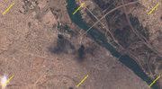تصویر ماهوارهای از غرب موصل