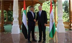دیدار وزرای خارجه تاجیکستان و امارات در «دوشنبه»