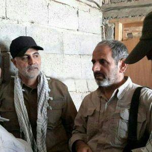 سردار شهید شعبان نصیری - حاج قاسم سلیمانی