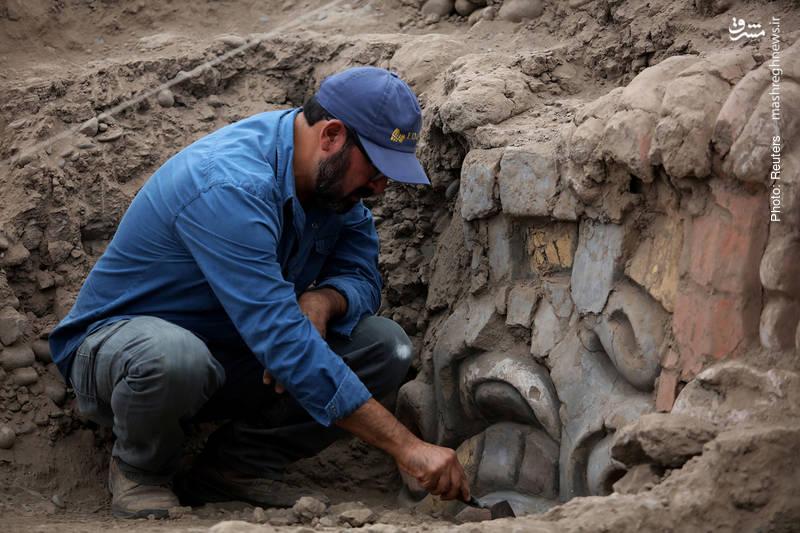 کشف دکوراسیون 3500 ساله در پرو