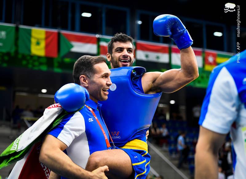 یزدان میرزایی در بازیهای همبستگی کشورهای اسلامی در باکو