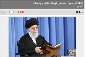 بازتاب بیانات رهبرانقلاب در رسانه های عربی