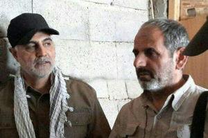 حاج شعبان نصیری - حاج قاسم سلیمانی