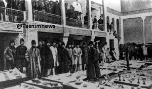 عکس/ سفره افطاری در تهران قدیم