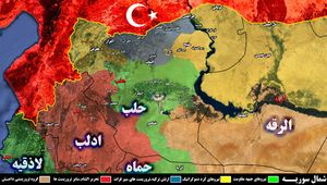 ادامه پیشروی نیروهای مقاومت در حومه المسکنه؛ حلقه محاصره تروریستها در محور شمالی تنگتر شد +نقشه
